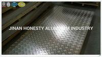 1050 1060 O aluminium tread sheet/aluminum treaded plate weight