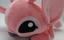 big eyes and ears pink animal stuffed toys character deer mascots
