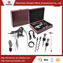 Wine Gift Set Bottle Opener Wine Corkscrew Tools Set Bar Accessories In Wooden Gift Box