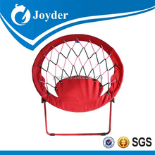 best popular kids portable metal folding cushions for moon chair