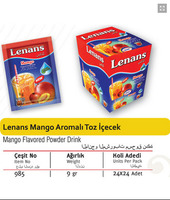 Lenans Mango Flavored Powder drink 9 gr. - 1,5 lt.