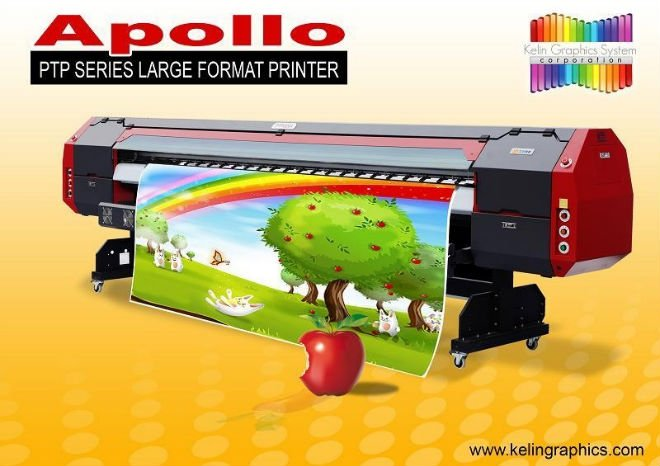 Apollo Large Format Digital Printer Machine