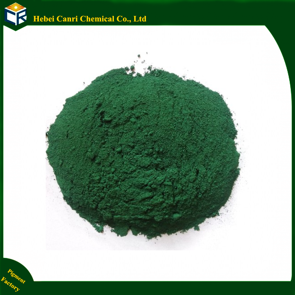 Green pigment iron colorant powder iron oxide colors