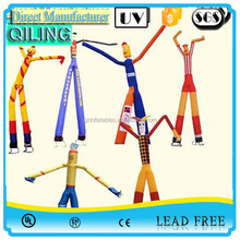2016 New product custom advertising inflatable air tube man, cheap mini inflatable sky dancer for sale