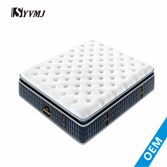 Factory wholesale healthy kingdom deep sleep silicone topper mattress - Jozy Mattress | Jozy.net