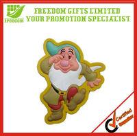 Promotional Wholesale Logo Printed Shaped PVC Freezer Magnet