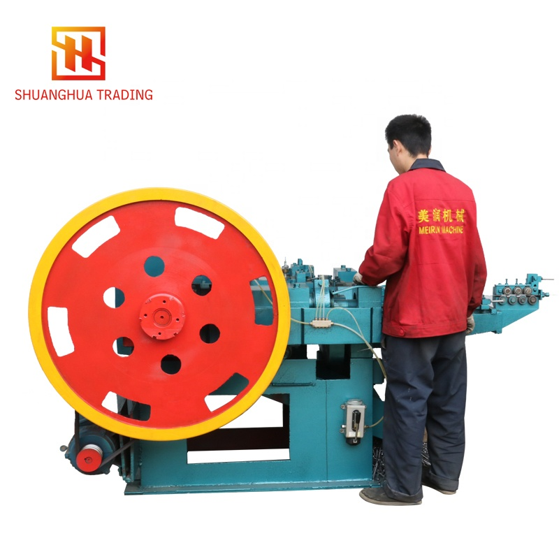China Supplied Cheap Wire Collated Coil Nails Making Machine/<strong>Equipment</strong>/Production Line With High quality