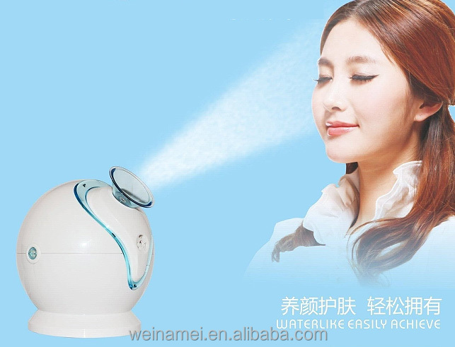 2016 beauty salon equipment face care protable electric facial steamer