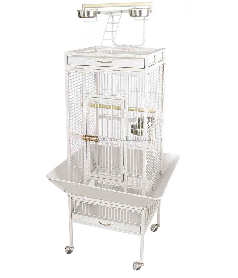 Wholesale cheap price african grey play stand metal parrot cage