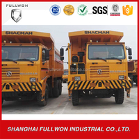 mining use 10-wheel shacman 80t dump truck for sale