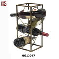 New Wonderland Metal Cuboid Wine Holder