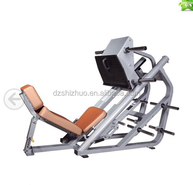 leg press machine sled weight