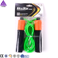 Lenwave brand skipping rope chinese leather speed crossfit wholesale jump rope