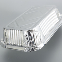 Popular Household for Food Package Aluminum Foil Containers with Lid