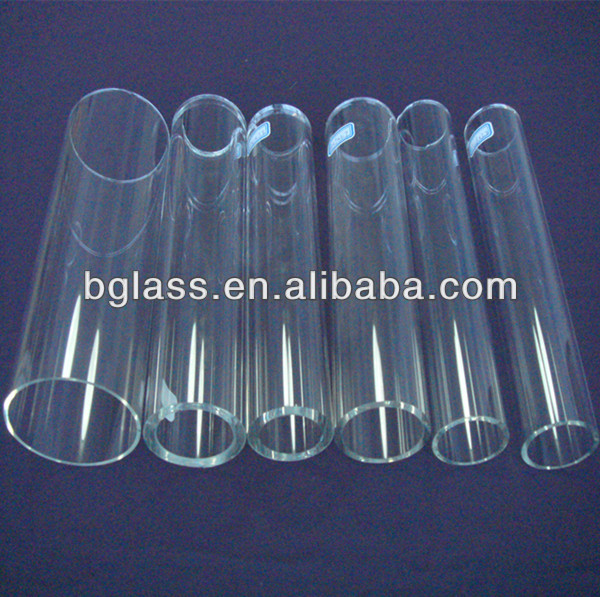 Heat resistant tubing borosilicate glass tubing 3.3 colored pyrex glass tubing