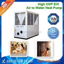 Low Temperature Commercial Air to Water Heat Pump R407C to Heated Floor or Sanitary Hot Water