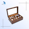 wholesale lacquered wood packaging box mdf watch box with custom logo