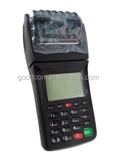 GPRS SMS Printer Supports Magstripe , NFC , Smart Card Reader