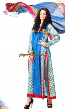 Subhata Designer Lawn Collection 2012