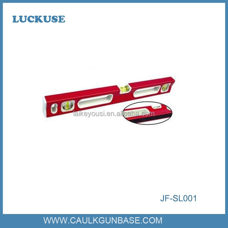 Aluminium material Portable spirit level for construction tools