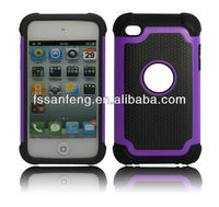 Hot mobile phone cover for Ipod touch4/High quality cell phone fancy case for ipod 4