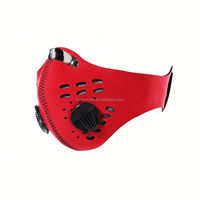 HT064 Customized Anti dust motorcycle bicycle cycling ski half face mask