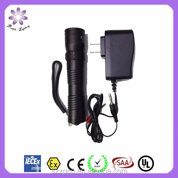 Rechargeable Portable Led Explosion Proof Flashlight,Flame Proof Led Torch Light