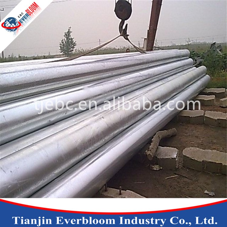 q235 steel,hot dipped galvanized steel pipe for gas and oil