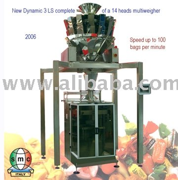 Vertical Packaging Machine Model Dynamic 3 Ls With Multiweigher