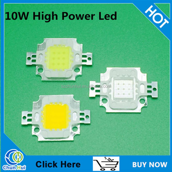 Best selling 10 watt high power chip led red green blue white yellow warm white