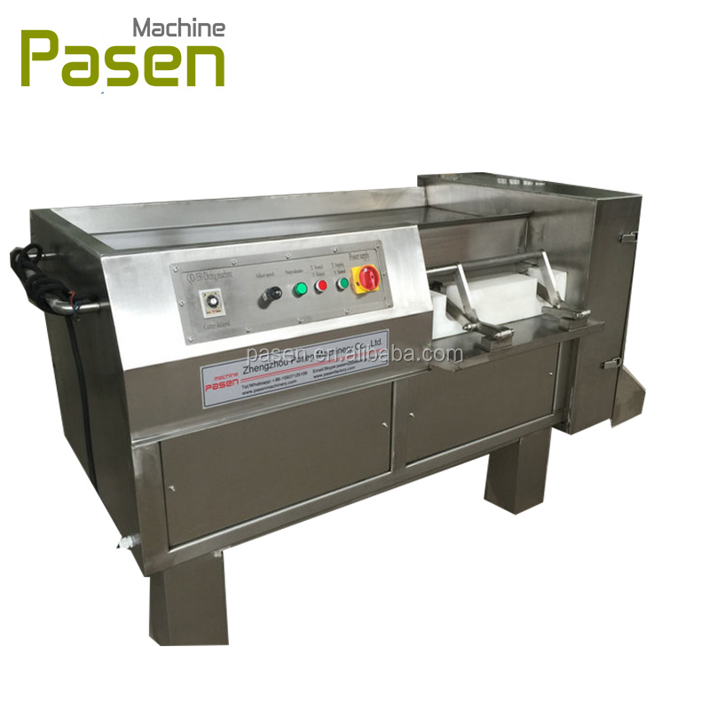 Industrial frozen meat block dicer machine/diced meat cube cutter