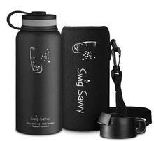 32oz Swig Savvy's Stainless Steel Vacuum Insulated Water Bottle