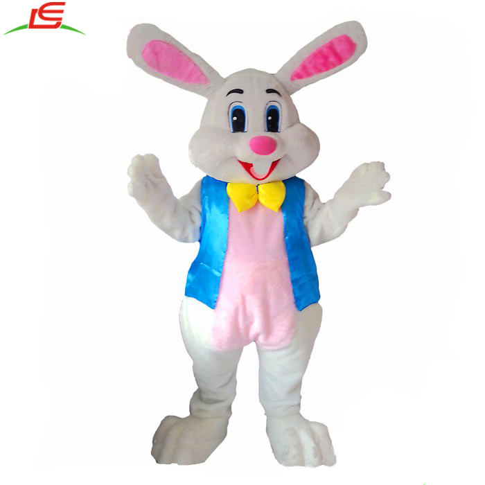 Best Selling Soft Plush Fabric Funny Rabbit Mascot Costumes