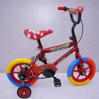 2015 Baby Freestyle bikes for kids with aluminium alloy frame and training wheels