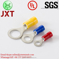 Nylon PVC crimp terminals waterproof electrical cable connectors stainless steel wire connectors
