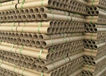 Various types of paper core and tube for industry application and packaging