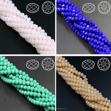 China Pujiang roundel beads treasures hollow glass beads in bulk
