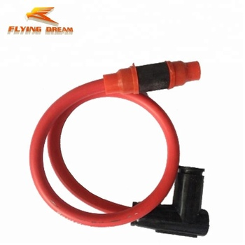 motorcycle parts high performance twin spark plug lead ignition coil