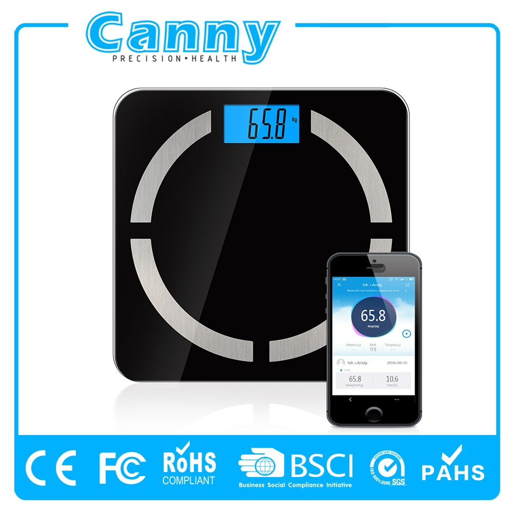 180kg BLE4.0 Free app tracking medical health bmi body weight scale