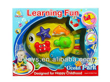 English and spanish Learning Fish toy W/M