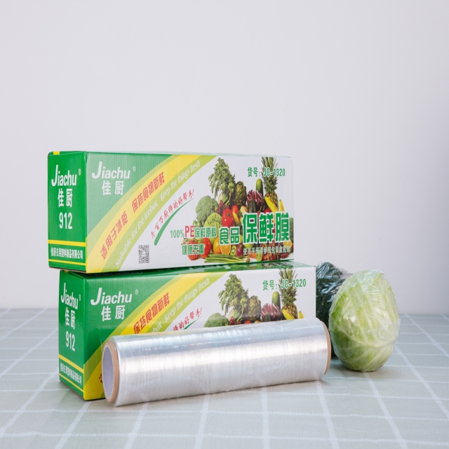 Best quality food grade PE kitchen Wrap cling film