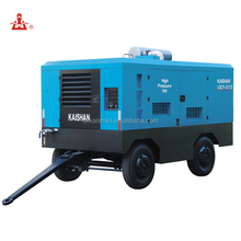 High pressure big capacity diesel water drilling air compressor