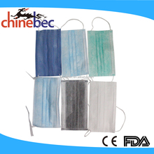 2017 New Products Summer Breathable Non Woven Medical Microfiber Face Mask