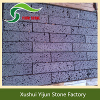 Popular Exterior Wall Panel Chinese Cheap Natural Lava Stone Brick