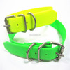 3mm thickness durable pvc fluo dog collar