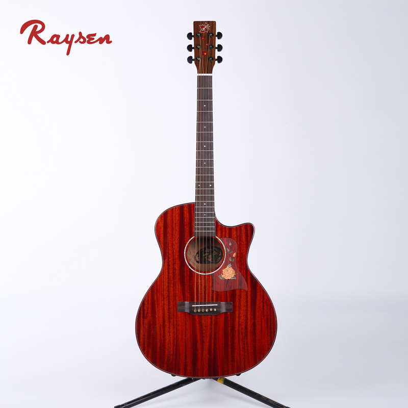 High quality acoustic guitar for beginners on stop music instrument store