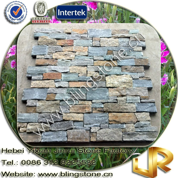 High Quality Natural Wall Slate Z Brick Stone