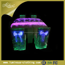 New design led luminous luxury white how to make removable dining chair covers