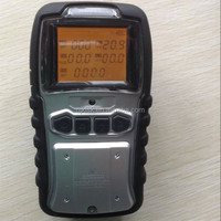 Portable diffussion multi 5 gas detector O2,LEL,CO,H2S,PID(VOCs) gas alarm for mining use
