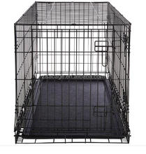 zisa factory Wire Folding Pet Crate Dog Cage